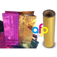 Buy Polyester Laser Holographic Film 22 Micron Thickness 10 - 18mpa Compound at wholesale prices