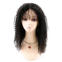 Quality Kinky Curly Front Lace Wigs , Lace Front Full Wigs Human Hair 8A Grade for sale