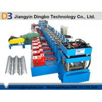 Buy cheap Heavy Duty Highway Guardrail Roll Forming Machine with Gearbox Transmission from wholesalers