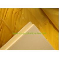 Quality 350Kpa 50mm Yellow Extruded Polystyrene Foam Board for Housing Industrilization for sale