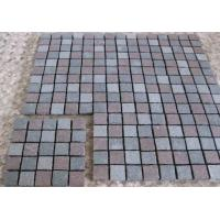 Quality Natural Driveway Paving Stones , Dark Grey Red Porphyry Outside Paving Stones for sale