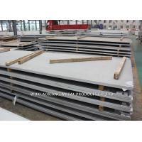 Quality DIN 1.4401 Hot Rolled Steel Sheet / Stainless Steel Plate Thickness 5MM - 7MM for sale