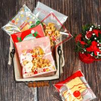 Quality Wholesale high quality Printing opp self adhesive plastic bag for Christmas candy packing for sale