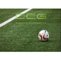 Buy Environmentally Friendly Soccer Artificial Grass Mat Monofilament PE Material at wholesale prices