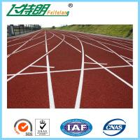 Buy cheap Customized Full PU Rubber Athletic Track / Indoor Playground Safety Surfacing from wholesalers