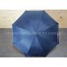 Buy cheap Blue Gentleman'S Automatic Umbrella , Custom Promotional Umbrellas Flip Proof from wholesalers