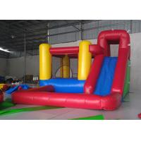 China Durable PVC Material Inflatable Bounce House For Rent / Home / Backyard on sale