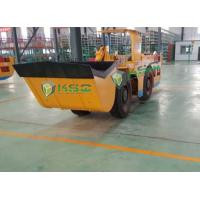 Quality Trackless Underground Haulage Equipment Load Haul Dumper Machine RL-1 LHD for sale