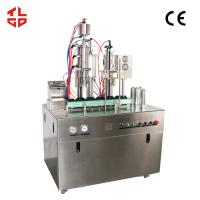 Quality Pneumatic Drive Oxygen Gas Spray Can Filling Machine With PLC Control System for sale