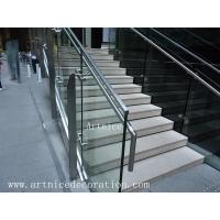 Quality Tempered / toughened glass for stairs fence, pool fence, balusrtade,railing,balcony for sale
