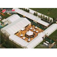 Quality Heavy Duty Structure Outdoor Exhibition Tents Weather Proof Eco - Friendly for sale