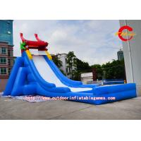 China Large Backyard Water Slides Chinese Dragon , inflatable slip and slide on sale