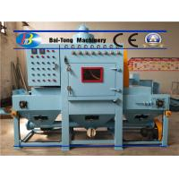 Quality Uniform Surface Finishing Industrial Sandblaster Mini Triangle Conveyor Belt Type for sale