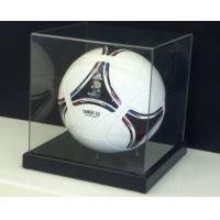 Buy cheap acrylic football display box basketball box ball showcase from wholesalers