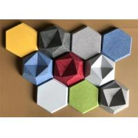 China Commercial Noisestop Acoustic Wall Panel , Sound Absorbing Wall Decor 34 Colors on sale