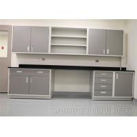 China Modern Dental Laboratory Bench Aluminum Alloy Structure With Three Section Drawers on sale
