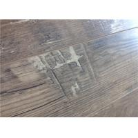 China 8mm EIR DIY Timber Flooring , Floating Engineered Wood Flooring with V Groove on sale