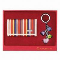 Quality Wallet Keychain Set, Fashionable Design for sale