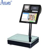 Quality Label Printing Scale,POS Scale,Touch Screen Scale,Touch Label Scale for sale