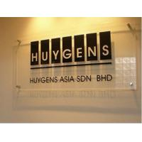 Quality POP wall-mounted frosted acrylic logo sign for sale