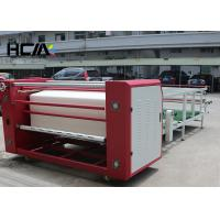 Automatic Sublimation Printing Machine , Anti - Explosion Rotary Heat Press Machine