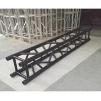 Quality 4 Sides Brace Tube 290*290mm Aluminum Black Spigot Truss for Outdoor Indoor Use for sale