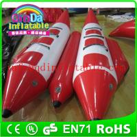 China Team water sports summer hot floating fly fish inflatable banana boat for sale on sale