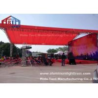 Buy cheap Arch Style Portable Truss System / Outdoor Event Lightweight Truss System from wholesalers