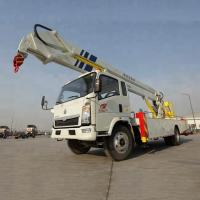 Quality 12-14m Aerial Work Platform Truck High Altitude Work Vehicle With 360 Slewing for sale