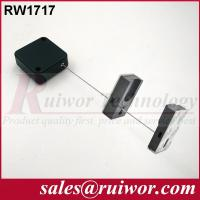 Quality 44x44x16MM White / Black Security Pull Box With Adhesive Magnetic Display Holder End for sale
