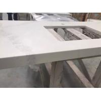 Buy Custom Cut Hard Surface Kitchen Countertops With Vein , Stone Kitchen Worktops at wholesale prices