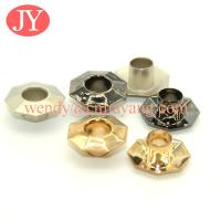 jiayang wholesale price Glossy gold precision banner iron eyelets and grommets