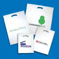 Quality Plastic Fold Over Die Cut Bags for sale