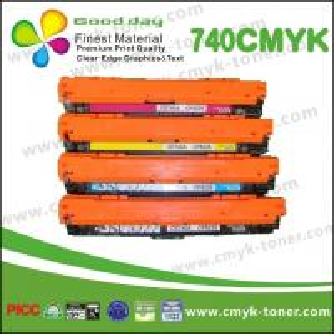 Quality Replacement CE740A HP Color Laserjet Toner Cartridge Compatible CP5220 5225 for sale