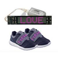Rechargeable LED Display Shoes APP Simulation Function Light Up Sole Shoes