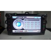 Buy 8 Inch HD SD USB RADIO bluetooth Toyota DVD Navigation System For Toyota COROLLA at wholesale prices