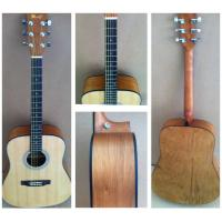 Quality OEM Classic Catalpa Western Guitar / Vintage Wood Acoustic Guitar For Learners TP-AG53 for sale