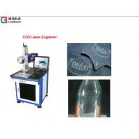 Quality Plastic Laser Engraving Machine For Plastic Boxes , Carving Machine Water Cooling for sale