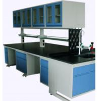 Quality Full Steel Laboratory Benches And Cabinets , Lab Desk Furniture With Adjustable Shelf for sale