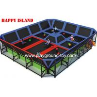 Buy cheap Professional Big PVC Trampolines For Kids For Indoor And Outdoor from wholesalers