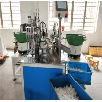 China Shampoo Lotion Bottle Spray Automatic Production Line , Finger Press Flip Top Automated Assembly Lines on sale