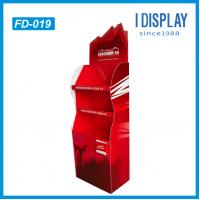 Buy Corrugated paper cardboard Floor display stand for products promotion at wholesale prices