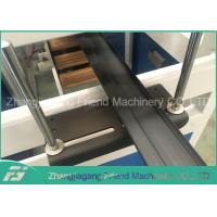 Quality High Speed Plastic Hard WPC Profile Extrusion Line 250mm Product Width for sale
