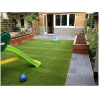 Quality Landscaping Playground Synthetic Turf Grass Nature 45mm High Density V Shape for sale