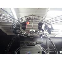 Quality Bolt System Aluminum Lighting Circle Truss / LED Screen Truss for sale