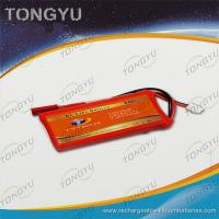 Quality CE ROHS RC Airplane LiPo Battery Pack 7.4V 450mAh 20C Discharge Rate for sale