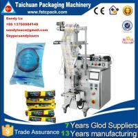 Quality Automatic water pouch packaging machine , juice/jam/ketchup packing machine for sale