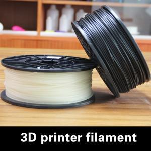 Quality Black 3.0mm PLA Plastic Filament Light For Education 3D Printer for sale