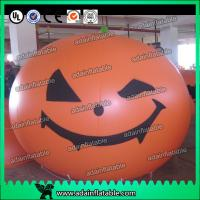 Quality Halloween Party Inflatable Pumpkin Decoration Helium Ball for sale