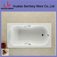 Quality cast iron bathtub with handles for sale